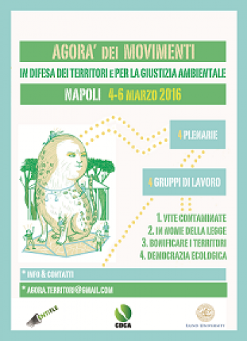 Agorà of movements in defense of territories and for environmental justice in Naples
