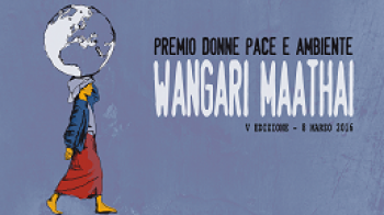 "V prize for women in defense of peace and the environment ""Wangari Maathai"""
